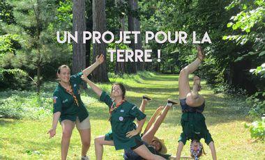 Project visual Projet scout solidarité environnementale