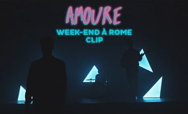 "Project visual AMOURE - CLIP ""WEEK-END A ROME"""