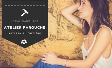Visuel du projet Atelier Farouche, créatrice et artisane
