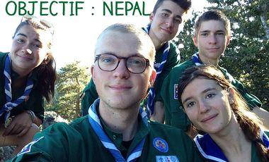 Visueel van project Objectif : Népal