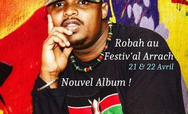 Visueel van project Robah au Festiv'al Arrach // Nouvel Album // East Africa Rise Up