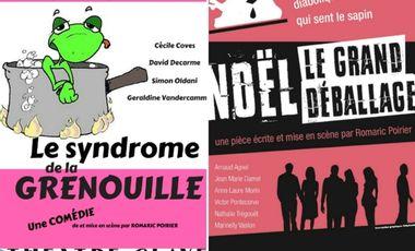 Project visual NOËL LE GRAND DÉBALLAGE/LE SYNDROME DE LA GRENOUILLE