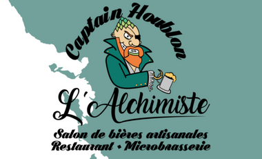 Project visual L'Alchimiste - La Microbrasserie collaborative du Captain Houblon