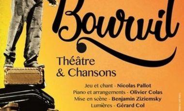 Visueel van project Bourvil au festival d'Avignon