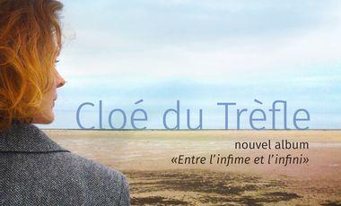 """Project visual Cloé du Trèfle, nouvel album """"Entre l'infime et l'infini"""""""