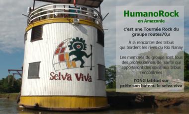 Visueel van project HumanoRock