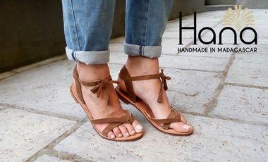 Visuel du projet Hana : Des sandales porteuses de sens