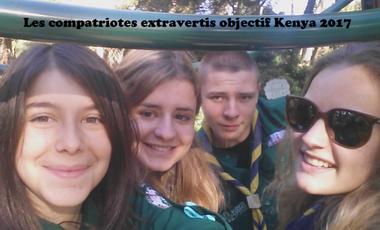 Visueel van project Les Compatriotes objectif KENYA 2017