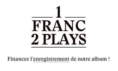Visueel van project 1 FRANC 2 PLAYS - Enregistrement de notre album