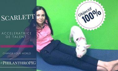 Visuel du projet Scarlett, philanthropig en tournée nationale