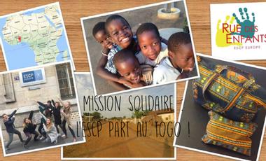 Visueel van project Mission solidaire : l'ESCP part au Togo