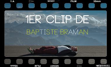 Visuel du projet 1er CLIP de BAPTISTE BRAMAN (Roocky)