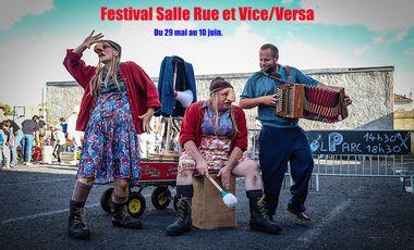 Visueel van project festival salle/rue et Vice/Versa