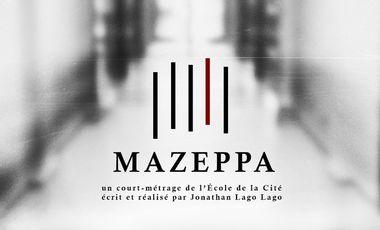 Project visual Mazeppa, le court-métrage