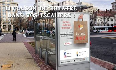 Project visual LIVRAISON DE THEATRE DANS VOS ESCALIERS !