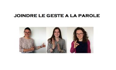 Visuel du projet Joindre le geste à la parole - Orto'go !
