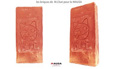 Visuel du projet les briques de  M.Chat pour le MAUSA