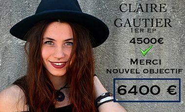 Project visual Claire Gautier : Réalisation de mon 1er EP !