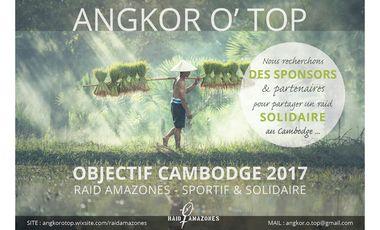 Visuel du projet ANGKOR O'TOP au Raid Amazones 2017