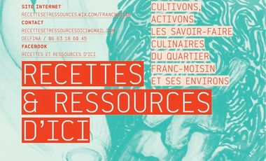 Visueel van project Recettes & Ressources d'ici