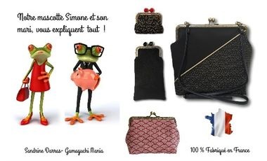 Project visual Sandrine Darras Gamaguchi Mania. Les accessoires rétro !