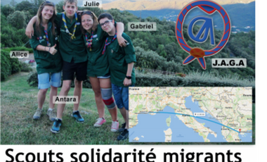 Project visual Scouts solidarité migrants