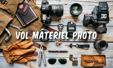 Visuel du projet Vol matériel photo