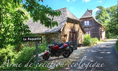 """Visuel du projet """"La Roquette"""" arme de création écologique"""