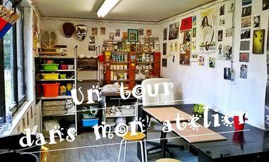 Project visual Un tour dans mon atelier