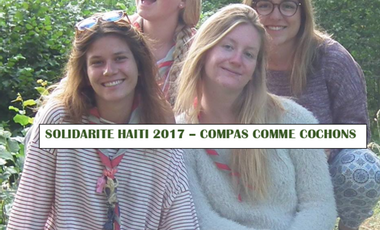 Project visual Solidarité Haïti 2017 - Compas comme Cochons