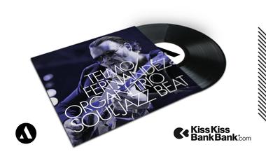 Project visual SOUL JAZZ BEAT LP — TELMO FERNANDEZ ORGAN TRIO