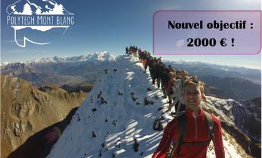Project visual Objectif Mont Blanc !