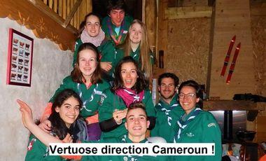 Project visual Projet compagnon (SGDF) : Vertuose direction Cameroun !