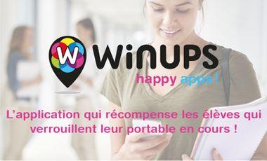 Project visual Winups, verrouille ton portable et gagne des offres exclusives !