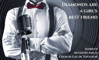 """Visueel van project """"Diamonds are a girl's best friend"""""""