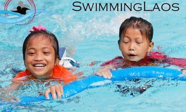Project visual Swimming Laos
