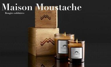 Visuel du projet Bougies parfumées solidaires : Maison Moustache