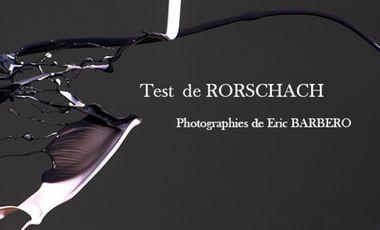 """Visueel van project Exposition photo """"test de RORSCHAH"""""""