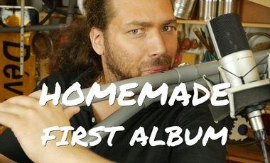 Project visual Homemade Instruments - Nicolas Bras, 1st album!