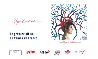 """Project visual Vanina de Franco - Premier album """"HyperCardioïde"""""""