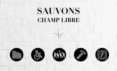 Project visual SAUVONS CHAMP LIBRE !
