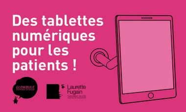 Project visual Des tablettes numériques pour les patients !