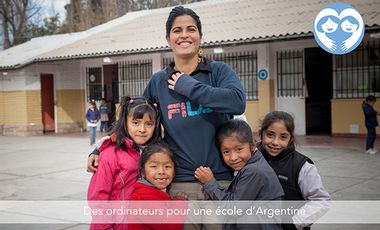 Visuel du projet Des ordinateurs pour une école d'Argentine