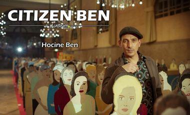 Visueel van project Citizen Ben, l'album de Hocine Ben