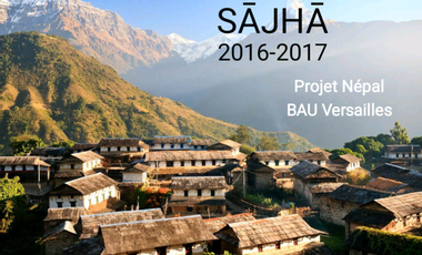 Visueel van project Sajha-BAU Népal 2017