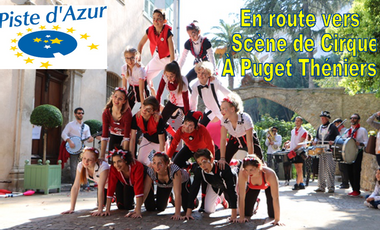 Project visual En route vers Scène de Cirque à Puget Théniers