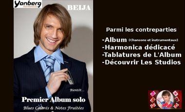 Visuel du projet Beija Premier Album
