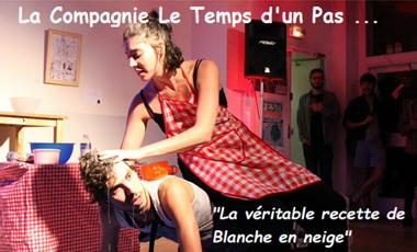 """Visueel van project """"La véritable recette de Blanche en neige"""" dans vos rues"""
