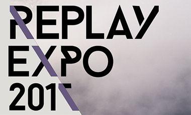 Visueel van project Replay Expo 2017