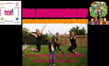 Project visual Les Valentines pour Valentin- RAID DES ALIZES 2017
